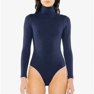 Navy Blue American Apparel Bodysuit
